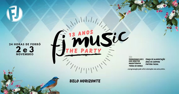 FJ music The Party - 13 anos