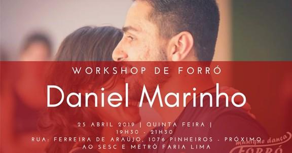Daniel Marinho e Vanessa Jappa
