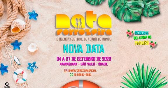 NATA FORROZEIRA 2020 - Forró no paraíso!
