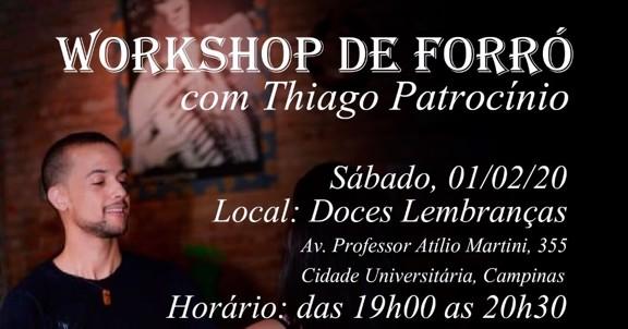 Workshop de Forró