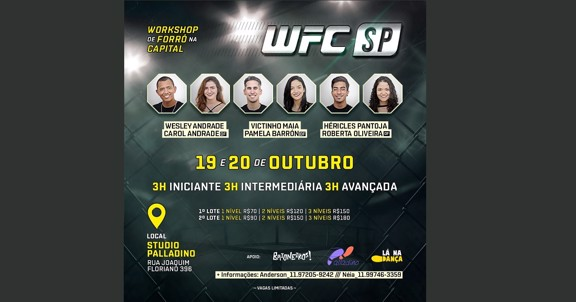 WFC - Workshop de Forró na Capital - Out/2019