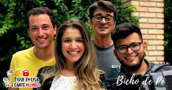 LIVE BICHO DE PÉ