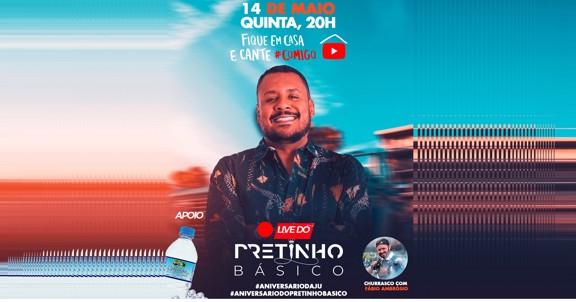 LIVE PRETINHO BÁSICO