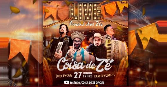 LIVE COISA DE ZÉ
