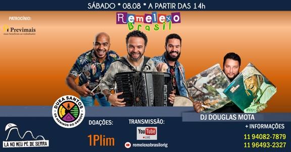 Remelexo Brasil com Duka Santos ao vivo