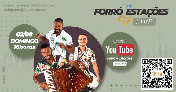 LIVE FORRÓ 4 ESTAÇÕES